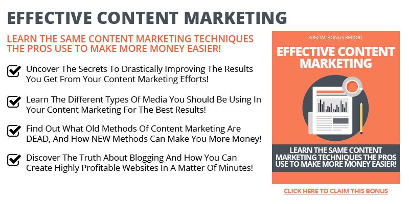 Effective Content Marketing